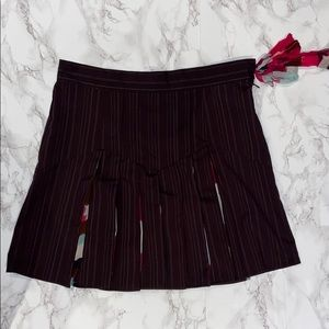 DIANE VON FURSTENBERG Pleated Skirt Size 4